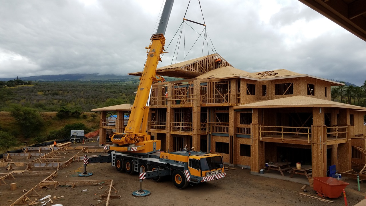 Keala O Wailea Topping Off Ceremony